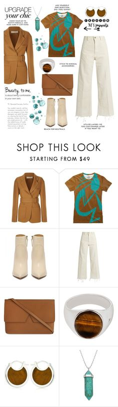 """""""Upgrade Your Chic"""" by taci42 ❤ liked on Polyvore featuring Victoria Beckham, Rachel Comey, Vince, Tom Wood, Pamela Love and Lord & Taylor"""