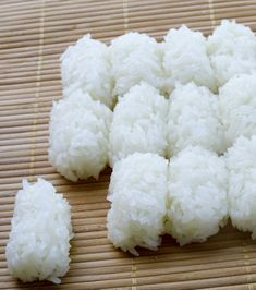 Deliver Sushi Rice for Nigiri (12 White or Brown Rice Pillow) to your door!  Order now at FishforSushi.com