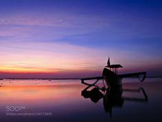Sunset on Kuta beach Bali by yudhiwirawan1