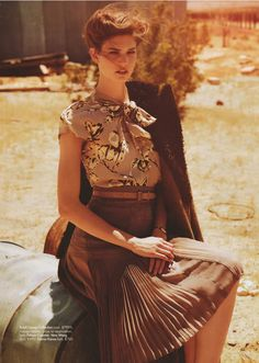 The 40s aesthetic, Australian Vogue