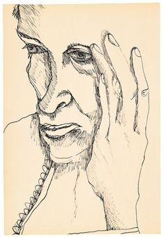 Lucian Freud Drawings - Exhibitions - Acquavella Galleries