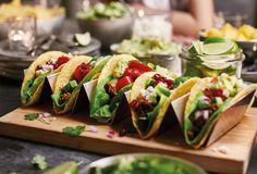 Tacos med fetaost och granatäpple