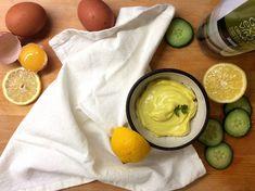 Mléčně kvašená majonéza z olivového oleje