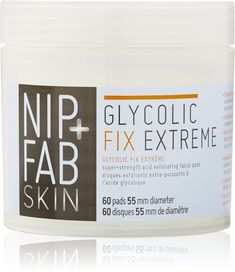 Nip   Fab Glycolic Fix Extreme Facial Pads, The Non Samantha Face Peel