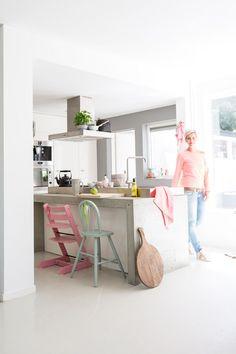 ... over Witte Keukens op Pinterest - Keukens, Kasten en Keukenkasten