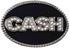 Johnny Cash Belt Buckle