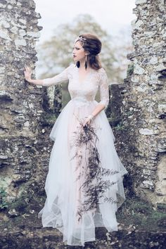 Fine Art Wedding Photography UK A Gothic Bridal Inspiration Shoot styled by Miss…