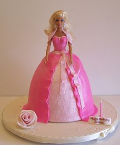 Barbie doll cake by cakespace - Beth (Chantilly Cake Designs), via Flickr
