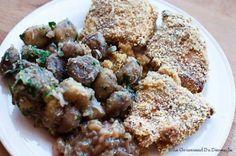 Une recette de Poulet à la diable accompagné d'une fricassée de châtaignes et d'une délicieuse sauce aux échalotes.