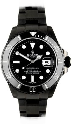 Bamford Watch blacked out rolexes Found on -http://wonderpiel.com/