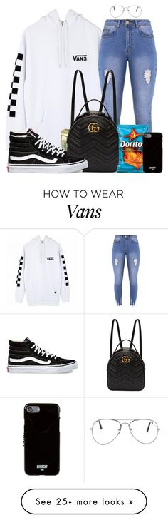 """Pull Up - Chris Brown"" by bbypng on Polyvore featuring Vans, Lipsy, Nasty Gal, Gucci, Givenchy, vans, ootd, DOPE and urban"