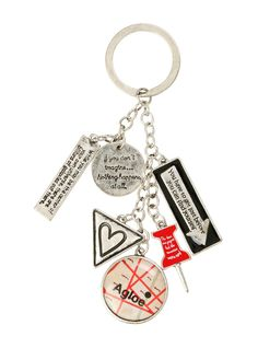So much to love about this Paper Towns Key Chain.