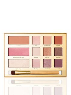 Swamp Queen eye & cheek palette with brush from tarte cosmetics