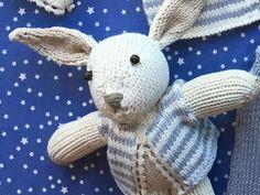 Un lapinou tout doux à tricoter