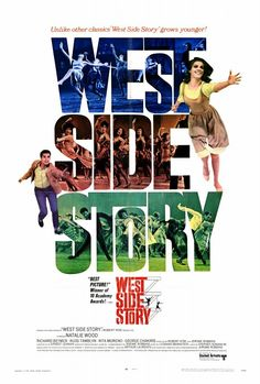 West Side Story 27x40 Movie Poster (1968)