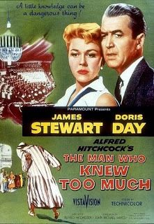 """""""The man who knew too much"""" - Alfred Hitchcook"""