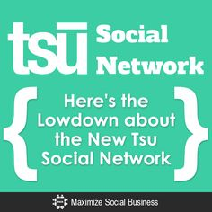 There has been a lot of buzz about the new Tsu social network lately ... but what exactly is it? And can you really make money on it? This post will reveal everything you want to know about Tsu!