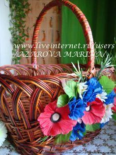 Красивая пасхальная корзина: идеи оформления