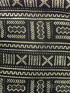 :: African mud cloth