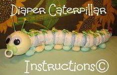 Caterpillar Diaper gift