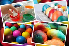 2X 7 COLORFUL PAINTS FOR DYEING THE EASTER EGGS - FAST DELIVERY  | eBay