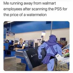 Running away from walmart Funny Memes Tumblr, Funny Memes Images, Love Memes, Best Memes, Dankest Memes, Funny Pictures, Girl Memes, Funny Humor, Top Funny