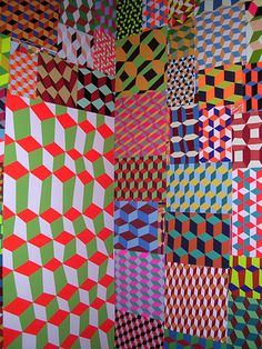 Barry McGee is the man! Barry McGee is the man! Geometric Patterns, Geometric Art, Textile Patterns, Print Patterns, Textiles, Op Art, Barry Mcgee, Guache, Color Shapes