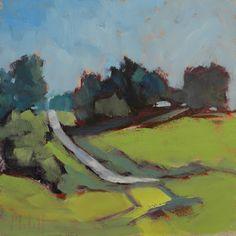 """""""Silver Ribbon""""    A contemporary rural landscape."""