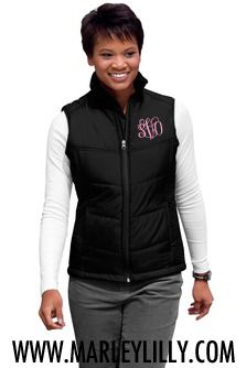 Port Authority Ladies Polyester Shell Puffy Zipper Vest blackblack XLarge -- More info could be found at the image url. Black Puffy Vest, Puffy Jacket, Vest Jacket, Top Mode, Sleeveless Coat, Puffer Vest, Coats For Women, Preppy, Long Sleeve Shirts