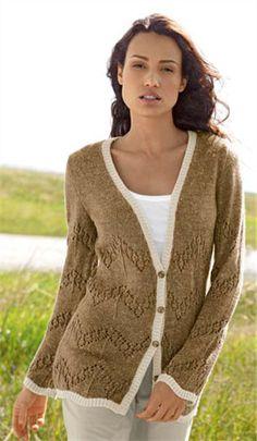 Bergere de France Long Jacket Knitting Pattern