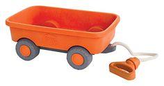 Green Toys WAGON Outdoor Toy Orange Green Toys