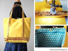 Bettinael.Passion.Couture.Made in france: TOTE BAG 13 patrons et tutos couture facile