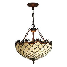 Tiffany Pendant Light with 1 Lights – GBP £ 153.11