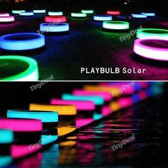 MIPOW PLAYBULB BTL400 Bluetooth Intelligent LED Solar Lawn Light HSI-465272 - Wholesale Supplier: TinyDeal