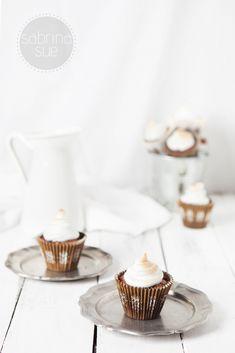 brownie meringue cupcakes