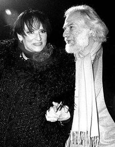 Barbara et Georges Moustaki