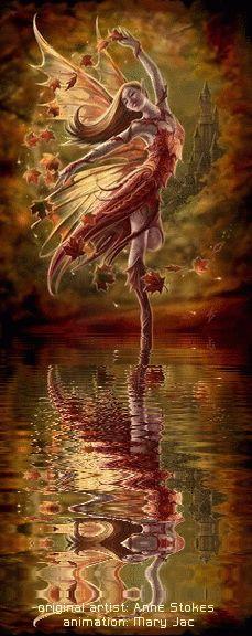 Fairy Friends 22 - Fairy Dance - Animated Fantasy Art - The Fairy Realm - Fairies