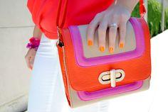 color block bag