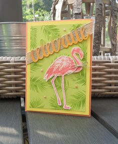 Rosalien's Creations : Blog Hop Stamp Impressions Europe - Tropical Flair