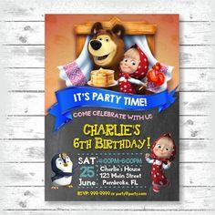 Masha y la invitación de BearPrintable Digital. Todo el texto puede ser modificado para requisitos particulares. Usted puede elegir el tamaño de la invitación en el menú desplegable: 4 x 6 o 5 x 7 pulgadas. No te olvides de agradecer a tus amigos! Comprar ahora una tarjeta de gracias correspondiente (4 x 6 pulgadas) con la invitación. MATCHIN PARA COLOREAR: https://www.etsy.com/listing/274109862 * DAR VUELTA ALREDEDOR DE TIEMPO * -Las pruebas 1-2 días -La final archivos 1-2 días después d...