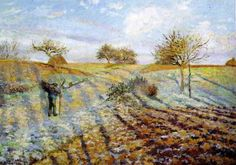 Camille Pissarro「Hoarfrost」