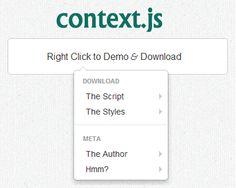 context.js – Bootstrap Context Menu   #jQuery #bootstrap #context #menu
