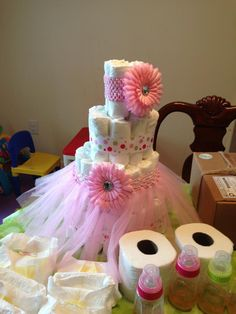 A Very Pink Baby Shower! #babyshower