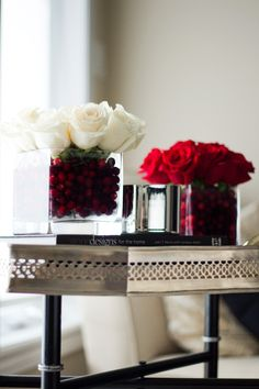 decor diy holiday roses not your standard holiday centerpieces holiday tables holiday - Cheap Christmas Centerpieces