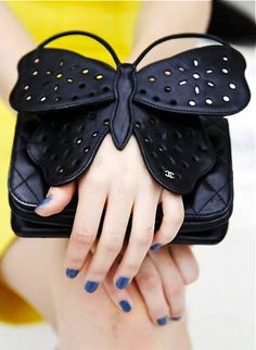 Chanel... Butterfly kisses for your hand.