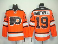 "Scott Hartnell #19 NHL Philadelphia Flyers Orang/black Hockey Jersey Sz50 by Scott. $59.50. Our store offers different kinds of jerseys. they are of high quality and low price. ""Customers highest, reputation first "" is our principle. cheap NHL jerseys will also never let you down.  Body: 100% nylon diamondback mesh  Collar: 100% polyester flat knit rib Officially licensed All suitable sizes and colors The players' numbers and names are sewn on the backs color:orang/black sz:L"