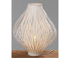 SCANDI TOUCH LAMPE À POSER PLASTIQUE, BLANC - Ø40 32 € Notre prix ** 50 € Prix boutique