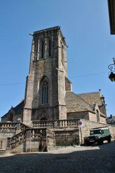 Eglise Saint-Jean-du-Baly à Lannion Cotes d'armor France, auteur pierre bastien pour Patrimoine de France.
