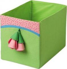 Ящик текстильный Цветочек HABA