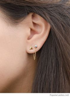 Awesome minimal earrings accessory